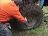 How To Properly Fix A Tire That Has Popped Off The Wheel