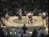 Takanoyama Skinny Sumo Wrestler