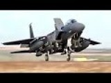 U.S. F-15Cs And F-15E Strike Eagles Arrive At Incirlik Air Base Turkey For Anti-ISIS Ops
