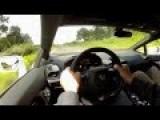 329 Km H In A Lamborghini Huracan