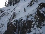 Ski Cliff Jump Fail