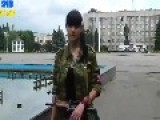Video From June 20th, At 1:10 The Rebel Girl Talking About Ukrainian Army Bombing The Cities And Using Passenger Jets As
