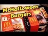 McDonald's Halloween Burgers In Japan