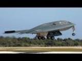 3 B-2 Spirit Stealth Bombers Lands At Nellis, Las Vegas