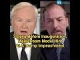 3 Days Before Inauguration, Mainstream Media Scheme Trump's Impeachment