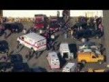 Sandy Hook Helicopter Footage