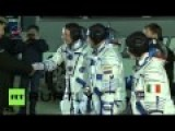 Woman Form Italy Rides Russian Rocket To ISS