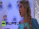 USA: Meet The Real-life Queen Elsa From 'Frozen'