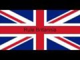 The British Empire Rule Britannia