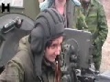 19-year-old Female Novorossian Fighter Kirra Shoots With НСВ-127