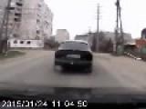 Another Dashcam Captures Grad Attack Against Mariupol Civilians Up Close
