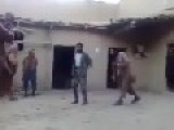 Taliban Beating Aghan Army ANA Soldier
