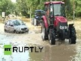 Bulgaria: Flood Victims Living In Drowned World