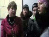 Previously Pro-Putin Hags Gather To Complain About Food Shortages Under Their Russian 'liberators': Yenakijeve