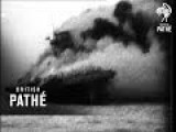 Sinking Of Us Aircraft Carrier Lexington 1942