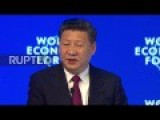 Chinese President Says Globalization Is Not The Cause For World Problems