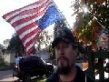 Disabled Veteran In Distress - Flies Flag Upside Down