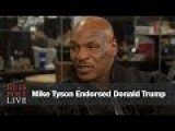 Mike Tyson Endorses Donald Trump For President