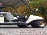 Two Idiots Flip A Golf Cart FAIL!