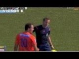 Soccer Player Goes Mental After Getting A Red Card