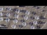 30 Aircraft In Formation Flight - UAV's - High-Tech!