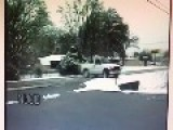 Ballet On The Road. Police Dash Cam Catches Truck Going Airborne