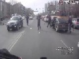 Fatal Biker Crash On Dashcam Russia
