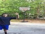 Teen Gets Hit With Basketball