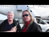 Iron Maiden's Ed Force One - Touched Down In Auckland, New Zealand