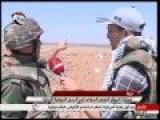 Syrian Army Operations Near The Jordanian Border