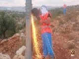 Palestinian Freedom Fighters Cut Power Lines To Zionist Occupation Settlements
