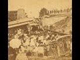 3D Animated Stereoscopic Photographs Of A Train Derailment In Bangor, Maine 1871