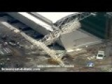 3 Killed As Crane Collapses At Brazil Stadium Due To Host WC 2014 Opening