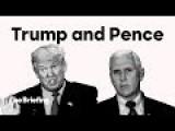 Clinton Hits Trump's VP Pick
