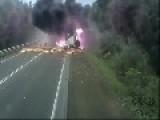 Truck Crash Compilation Diesel Smoke
