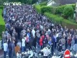 Thousands March In France For Murdered Police