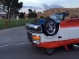 *VOLUME* Driving A Truck Upside Down... Or Somethin'
