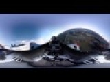 360 Degree View - P-51 And F-22 Formation Flight