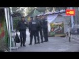 Police Raid At Christiania Early Morning