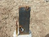 338 Lapua Vs 1 Thick Steel Plate 2.5cm