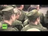 Syria: Russian Soldiers Enjoy Special Defender Of The Fatherland Day Concert