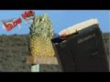 458 SOCOM Shoots PineApples In SLOW MOTION