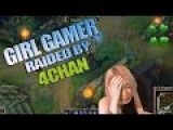 4CHAN RAIDS: Girl Gamer Crying And Lying