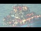 5,000 Illegal Alien Muslims From North Africa Were Rescued By The Italian Navy . Media Outraged 39 Were Found Dead