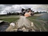 GoPro POV Tank Cam Footage Of US Military Assault Breacher Vehicle In IED MINE Clearing Action