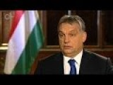 Viktor Orban On Refugee Crisis Full Interview 9 27 2016