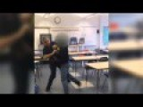 'Utterly Alarming' Fight Between Teacher, Student Caught On Video