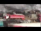 400 Fuel Tankers Set On Fire Near Kabul RAW FOOTAGE