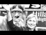 Hillary BIGFOOT Sighting! Clinton Spotted?