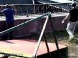 Смертельный срыв каскадера Deadly Biker Stunt Accident Bridge Crash Russia